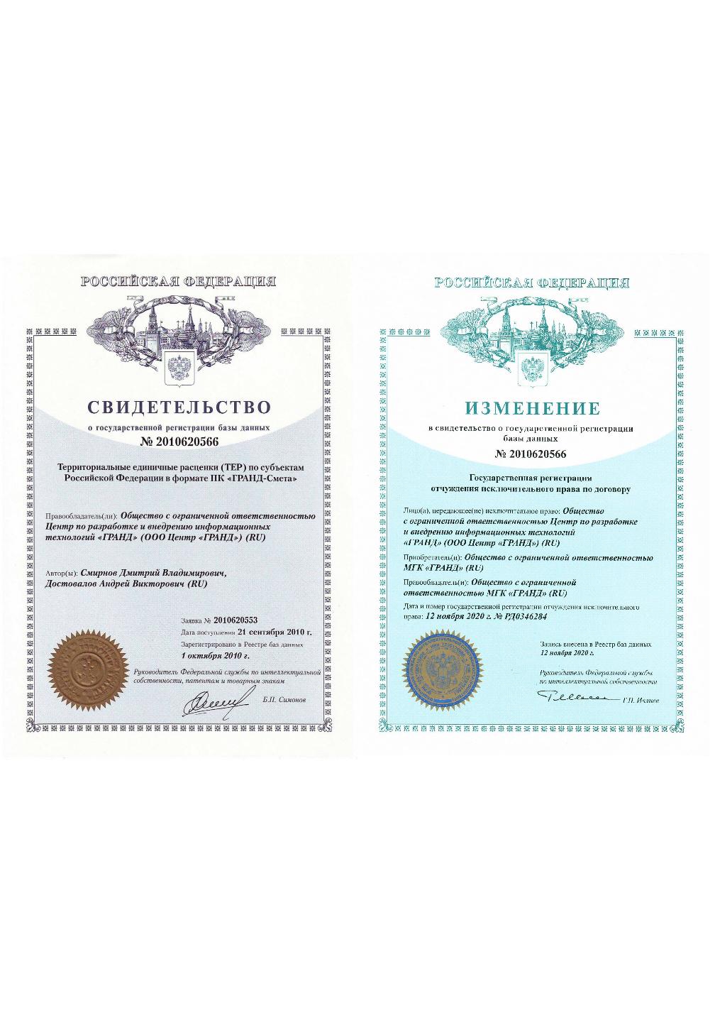 Территориальные единичные расценки (ТЕР) по субъектам Российской Федерации в формате  ПК «ГРАНД-Смета»